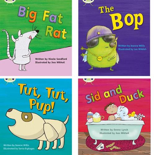 Learn to Read at Home with Phonics Bug: Pack 2 (Pack of 4 fiction books) - Phonics Bug