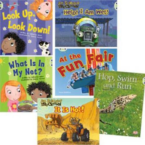 Learn at Home:Learn to Read at Home with Bug Club: Pink Pack featuring Trucktown (Pack of 6 reading books with 4 fiction and 2 non-fiction) (Paperback)
