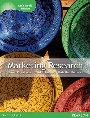 Marketing Research (Arab World Editions): An Applied Orientation (Paperback)