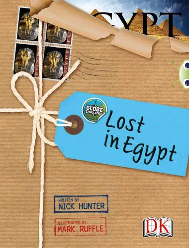 Globe Challenge: Lost in Egypt: BC NF Brown A/3C Globe Challenge: Lost in Egypt NF Brown A/3c - BUG CLUB (Paperback)