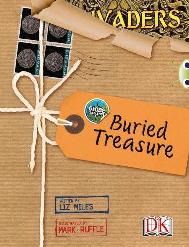 Globe Challenge: Buried Treasure: BC NF Grey A/3A Globe Challenge: Buried Treasure NF Grey A/3a - BUG CLUB (Paperback)