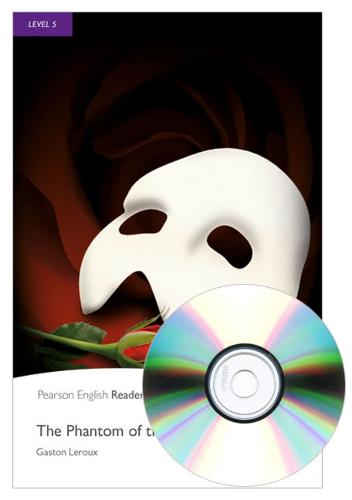 Level 5: The Phantom of the Opera Book and MP3 Pack - Pearson English Graded Readers
