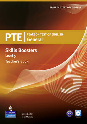 Pearson Test of English General Skills Booster 5 Teacher's Book and CD Pack - Pearson Tests of English