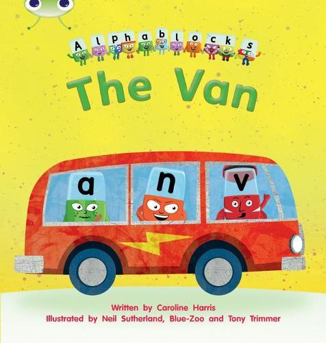 The The Van: Bug Club Phonics Bug Alphablocks Set 06 The Van Alphablocks Set 06 - Phonics Bug (Paperback)