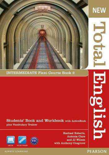 New Total English Intermediate Flexi Coursebook 1 Pack - Total English
