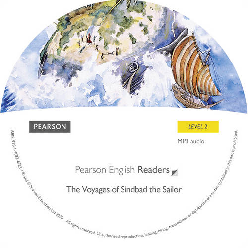 Level 2: The Voyages of Sinbad the Sailor MP3 for Pack - Pearson English Graded Readers (CD-ROM)