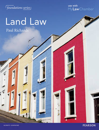 Richards Land Law MyLawChamber Pack - Foundation Studies in Law Series