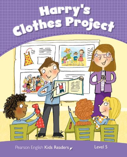 Level 5: Harry's Clothes Project CLIL - Pearson English Kids Readers (Paperback)