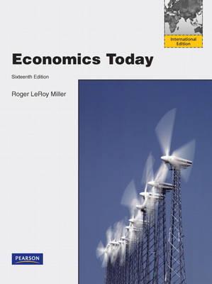 Economics Today Plus MyEconLab Student Access Code