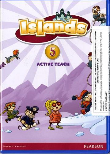 Islands Level 5 Active Teach: Islands Level 5 Active Teach 5 - Islands (CD-ROM)