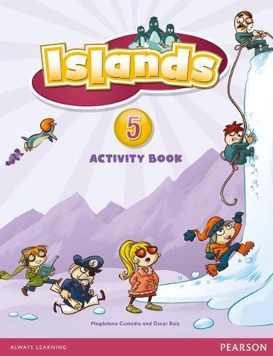 Islands Level 5 Activity Book plus pin code - Islands