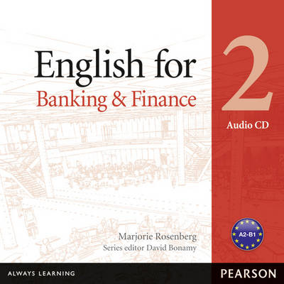 English for Banking Level 2 Audio CD - Vocational English (CD-Audio)