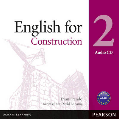 English for Construction Level 2 Audio CD - Vocational English (CD-Audio)
