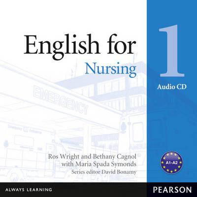 English for Nursing Level 1 Audio CD - Vocational English (CD-Audio)