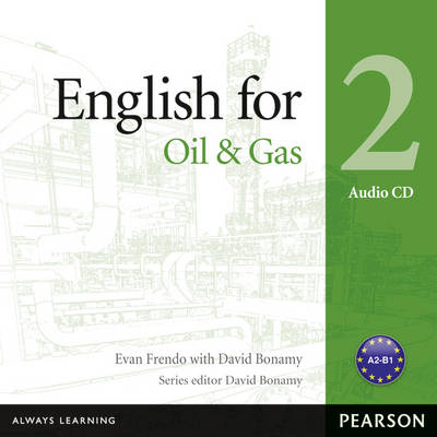 English for the Oil Industry Level 2 Audio CD - Vocational English (CD-Audio)