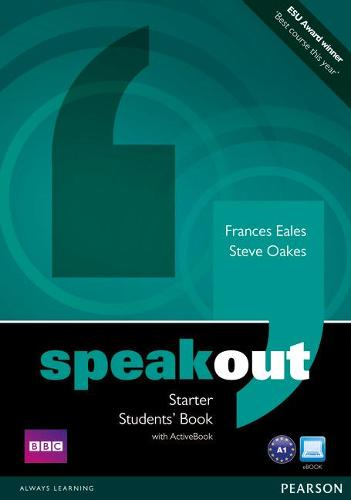 Speakout Starter Students Book with DVD/Active Book Multi Rom Pack - speakout