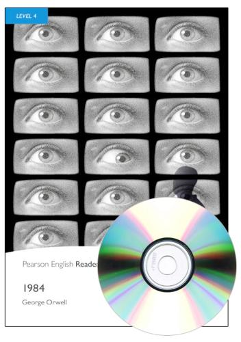Level 4: 1984 Book and MP3 Pack - Pearson English Graded Readers
