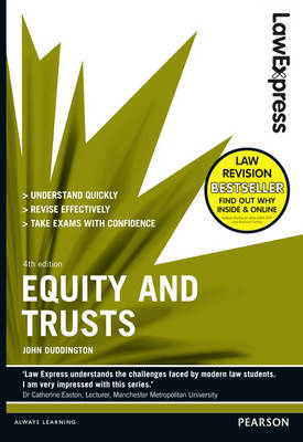 Law Express: Equity and Trusts (revision Guide) - Law Express (Paperback)