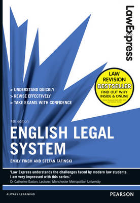 Law Express: English Legal System (revision Guide) - Law Express (Paperback)