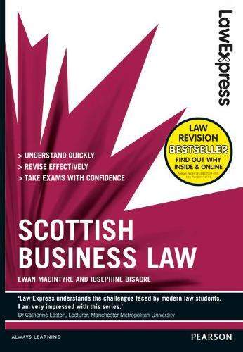 Law Express: Scottish Business Law (Revision guide) - Law Express (Paperback)