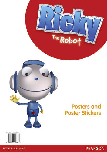 Ricky The Robot Poster and Sticker Pack - Ricky the Robot