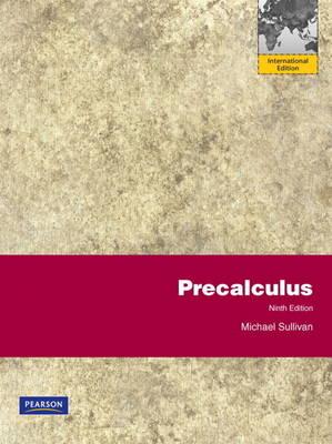 Precalculus plus MathXL Access Card (12 months): International Edition