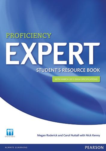 Expert Proficiency Student's Resource Book with Key - Expert (Paperback)