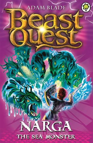 Narga the Sea Monster: Series 3 Book 3 - Beast Quest (Paperback)