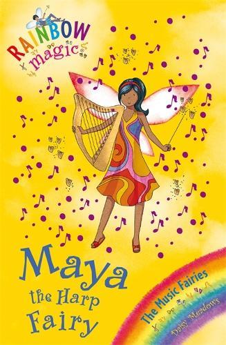 Rainbow Magic: Maya the Harp Fairy: The Music Fairies Book 5 - Rainbow Magic (Paperback)