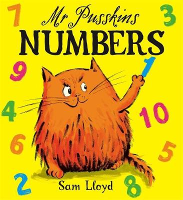 Mr Pusskins Numbers: Board Book (Board book)