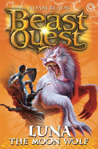 Beast Quest: Luna the Moon Wolf: Series 4 Book 4 - Beast Quest (Paperback)