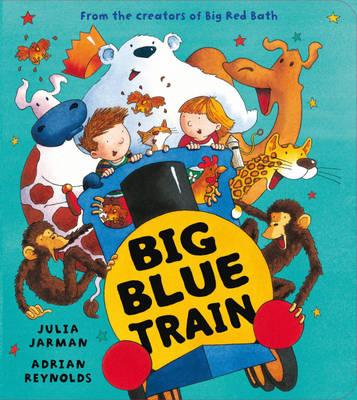Big Blue Train (Board book)