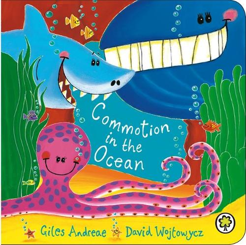 Commotion In The Ocean Board Book (Board book)