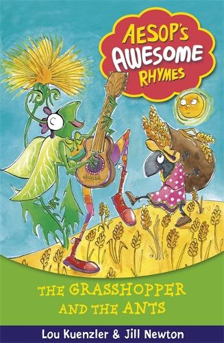 Aesop's Awesome Rhymes: The Grasshopper and the Ants: Book 7 - Aesop's Awesome Rhymes (Paperback)