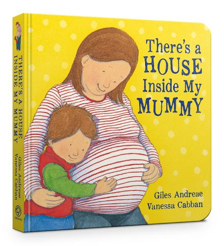 There's A House Inside My Mummy Board Book (Board book)