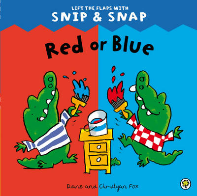 Red or Blue - Snip & Snap 4 (Paperback)