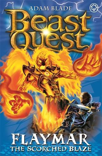 Beast Quest: Flaymar the Scorched Blaze: Series 11 Book 4 - Beast Quest (Paperback)