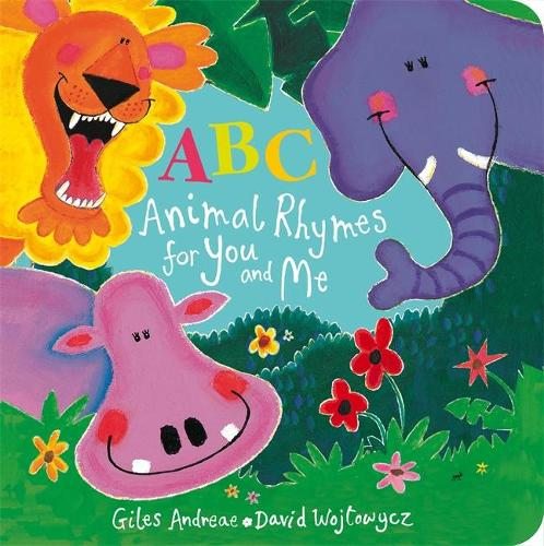ABC Animal Rhymes for You and Me (Board book)