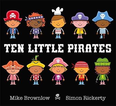 Pirates - Ten Little (Hardback)