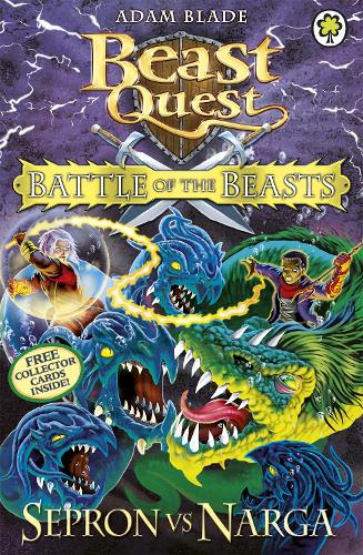 Battle of the Beasts Sepron vs Narga: Book 3 - Beast Quest (Paperback)