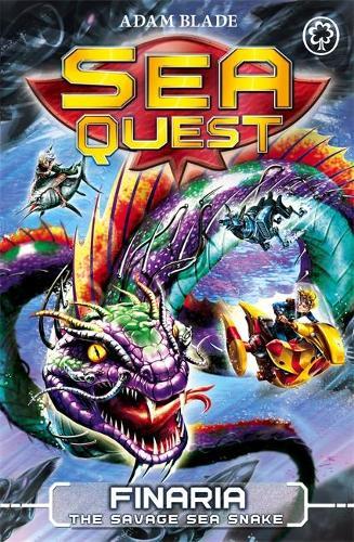 Sea Quest: Finaria the Savage Sea Snake: Book 11 - Sea Quest (Paperback)