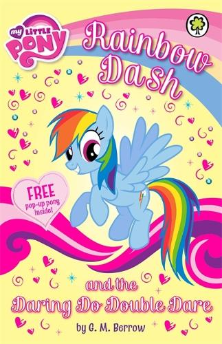 My Little Pony: Rainbow Dash and the Daring Do Double Dare - My Little Pony (Paperback)