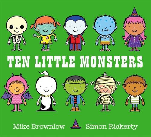Ten Little Monsters - Ten Little (Paperback)