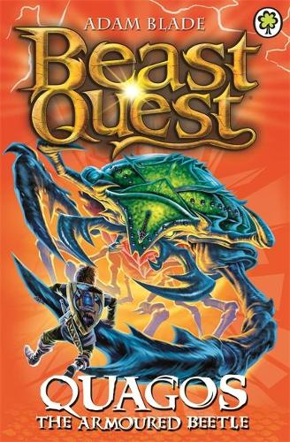 Quagos the Armoured Beetle: Series 15 Book 4 - Beast Quest (Paperback)