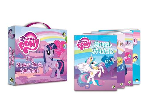 My Little Pony: My Sticker Book Collection: 4 activity books with over 700 stickers! - My Little Pony