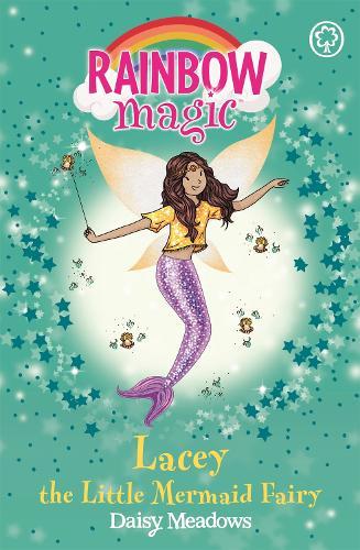 Rainbow Magic: Lacey the Little Mermaid Fairy: The Fairytale Fairies Book 4 - Rainbow Magic (Paperback)