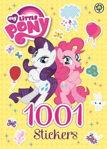 My Little Pony: 1001 Stickers - My Little Pony (Paperback)