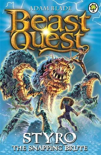 Beast Quest: Styro the Snapping Brute: Series 16 Book 1 - Beast Quest (Paperback)