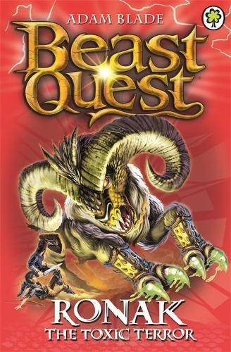 Beast Quest: Ronak the Toxic Terror: Series 16 Book 2 - Beast Quest (Paperback)
