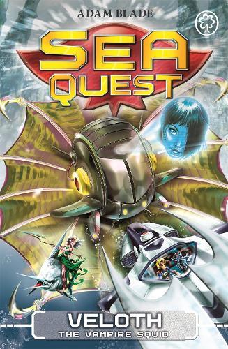 Sea Quest: Veloth the Vampire Squid: Book 25 - Sea Quest (Paperback)